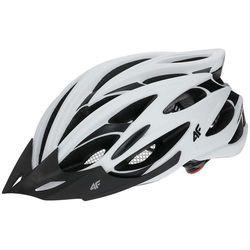 Kask rowerowy h4l18 ksr001 m 55-58 cm biały marki 4f