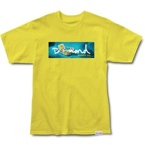 78a4194e0d335 Zobacz ofertę Koszulka DIAMOND - Citrine Box Logo S/S Tee Yellow (YEL),  kolor