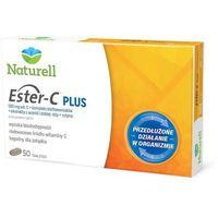 Naturell, Witamina C, Ester-C Plus, 50 tabletek - Długi termin ważności! DARMOWA DOSTAWA od 39,99zł do 2kg! (5903031280289)