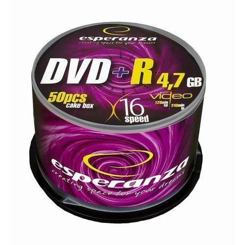 Płyty Esperanza DVD+R 4.7GB 16x - Cake - 50szt.