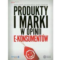 Produkty i marki w opinii e-konsumentów (9788324634019)