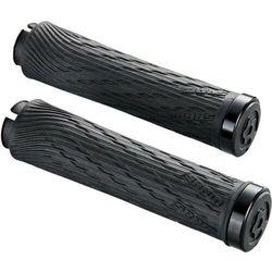 Chwyty kierownicy locking grips for xx1 grip shift 100mm i 122mm czarne z czarną obejmą marki Sram