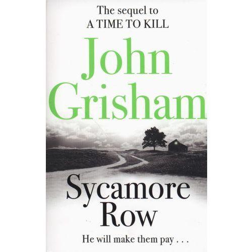 Sycamore Row - wysyłamy w 24h, oprawa miękka