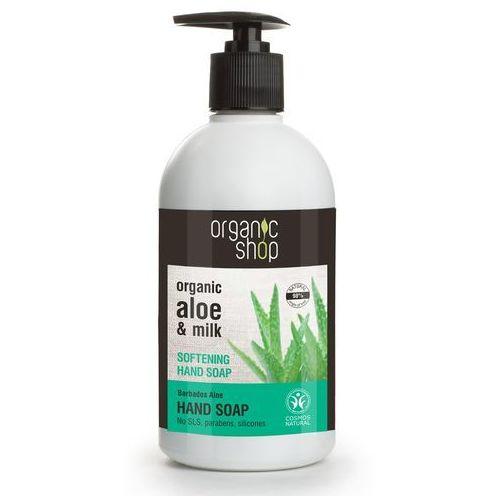 Mydło w płynie do rąk zmiękczające barbadoski aloes 500 ml - ORGANIC SHOP - Godna uwagi przecena