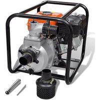vidaXL Spalinowa pompa wodna, przyłączenie 80 mm, 6,5 KM (8718475872092)