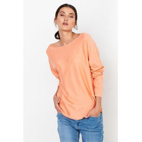 Morelowa bluzka z jedwabiu - Patrizia Aryton