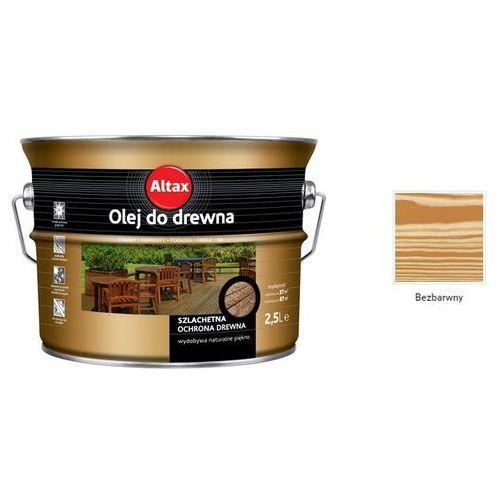 ALTAX- olej do drewna, bezbarwny, 2.5 l