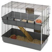 Ferplast Rabbit 120 Double dwupiętrowa klatka dla królika z wyposażeniem (57047817)