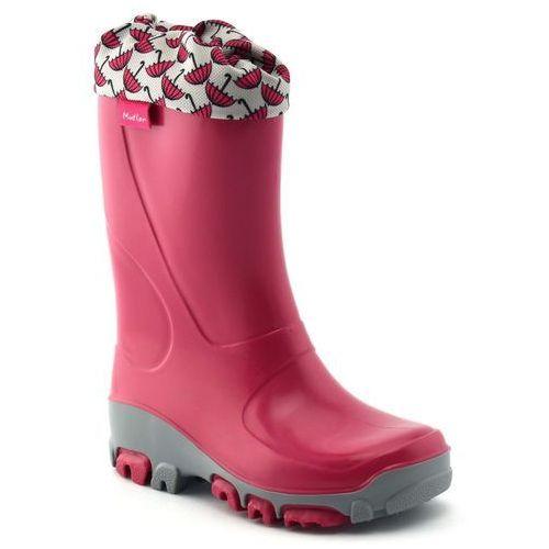Kalosze dziecięce Renbut Muflon 23-492 Parasolki, kolor różowy