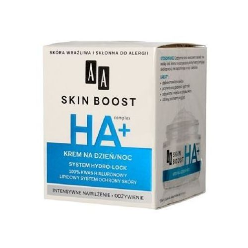 AA Skin Boost HA+, 50 ml. Krem na dzień i noc - AA. DARMOWA DOSTAWA DO KIOSKU RUCHU OD 24,99ZŁ