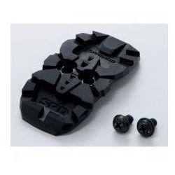 ESMSHMT33CC Osłona bloku/ zaślepka plus nakrętki bloków do butów Shimano SPD - para, KAT00323