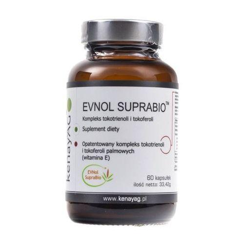 Kapsułki EVNOL SUPRABIO- Kompleks tokotrienoli i tokoferoli (witamina E) (60 kapsułek)