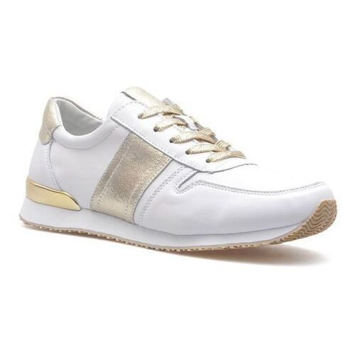 Sneakersy Filippo DP1265/20 WH GO Białe/Złote lico, sneakersy