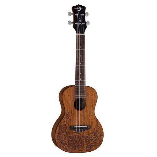 mahogany mo′o concert ukulele koncertowe marki Luna