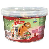 VITAPOL pokarm dla świnki morskiej 2w1 wiaderko 1.6kg