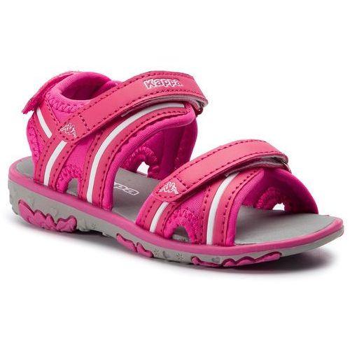 Sandały - breezy ii k 260679k pink/white 2210 marki Kappa