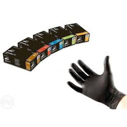 """Rękawice nitrylowe bezpudrowe NITRYLEX® black """"XL"""" 100szt"""