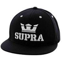 czapka z daszkiem SUPRA - Above Snap Black/White (BKW)