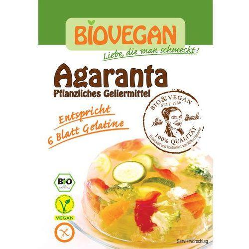 Biovegan : agaranta (roślinny środek żelujący) bio - 18 g