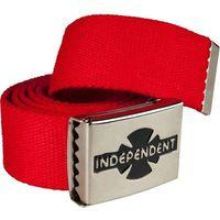 pasek INDEPENDENT - Clipped Cardinal Red (CARDINAL RED) rozmiar: OS