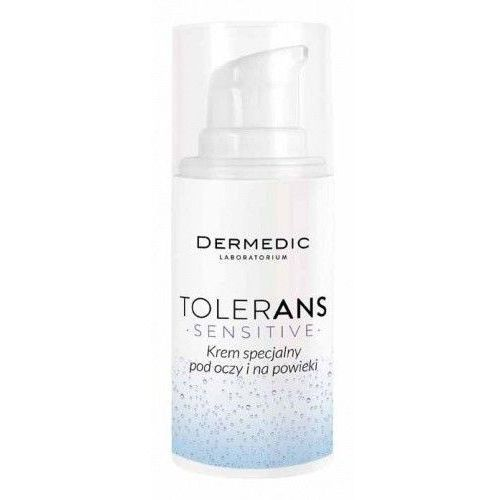 Dermedic tolerans sensitive krem specjalny pod oczy i na powieki 15g Biogened