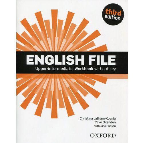 English File Third Edition Upper-Intermediate zeszyt ćwiczeń, oprawa broszurowa
