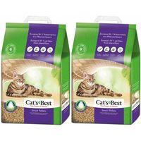 Cat's Best Smart Pellet Żwirek pelet zbrylający dla kotów długowłosych 4x10l
