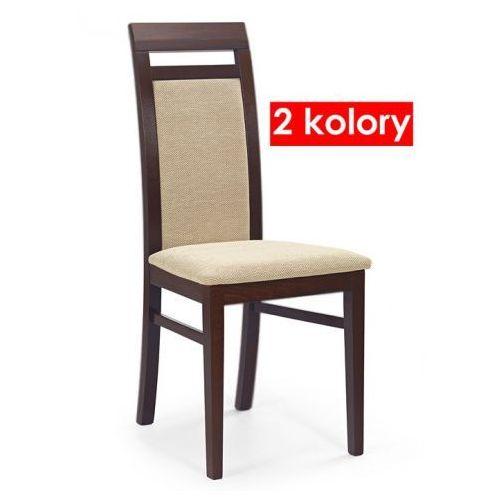 Krzesło Drewniane Tolen Ciemny Orzech Producent Elior