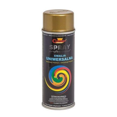 Farba w aerozolu spray 400ml. - złota (5905179471024)