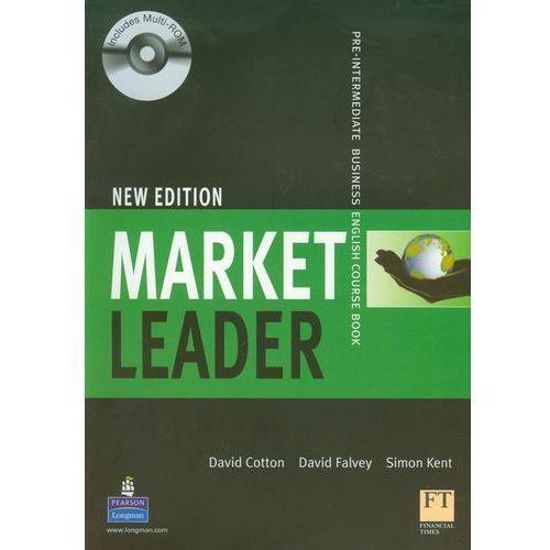 Market Leader New Pre-Intermediate Students Book with CD-ROM, oprawa miękka