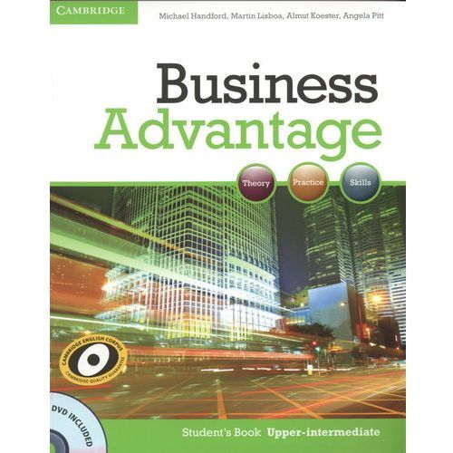 Business Advantage Upper Intermediate Student's Book (podręcznik) with DVD