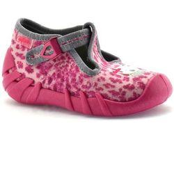 Kapcie dla dzieci Befado 110P304 Speedy - Różowy ||Fuksja, kolor różowy