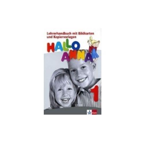 HALLO ANNA 1 LIBRO DEL PROFESOR + CD-ROM (Książka)