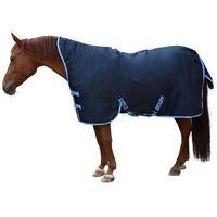 derka dla konia rugbe highneck, niebieska, 125 cm, 328664 marki Kerbl