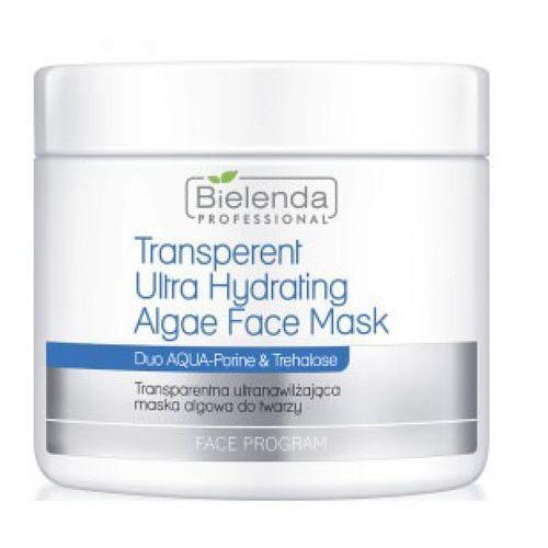 Transparent ultra hydrating face algae mask transparentna ultranawilżająca maska algowa Bielenda professional