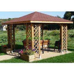 Altana na działkę Ewa 3000 x 3000 kant. 9cm - produkt z kategorii- Altany i domki ogrodowe