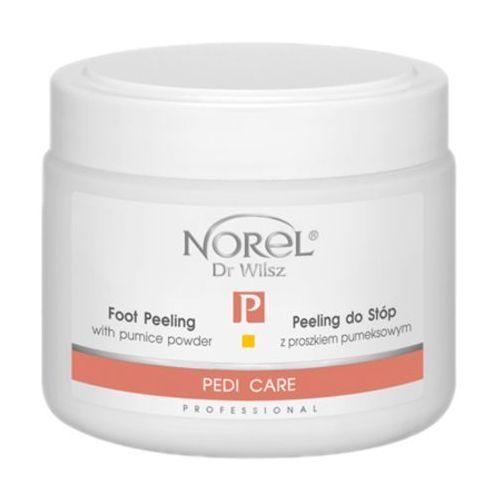 Foot peeling with pumice powder peeling do stóp z proszkiem pumeksowym (pp386) Norel (dr wilsz) - Świetna promocja
