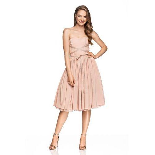 Sugarfree Sukienka primabalerina w kolorze różowym