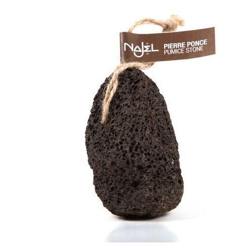 Naturalny pumeks wulkaniczny czarny z zawieszką (3760061221048) - galeria