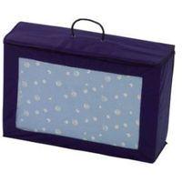 materac do łóżeczka turystycznego 60 x 120 cm niebieski + troba do transportu marki Alvi