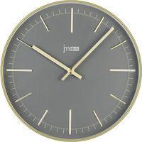 Lowell zegar ścienny 14947C złoty, kolor żółty