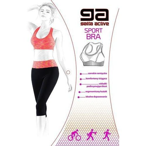 Biustonosz sportowy 43480 sport bra purple melange - purple melange marki Gatta