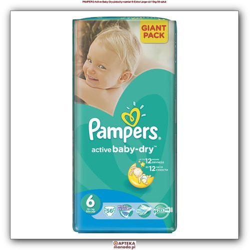 PAMPERS Active Baby-Dry Pieluchy 6 Extra Large 56szt pieluszki