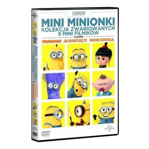 Mini Minionki Kolekcja zwariowanych 9 mini filmików DVD