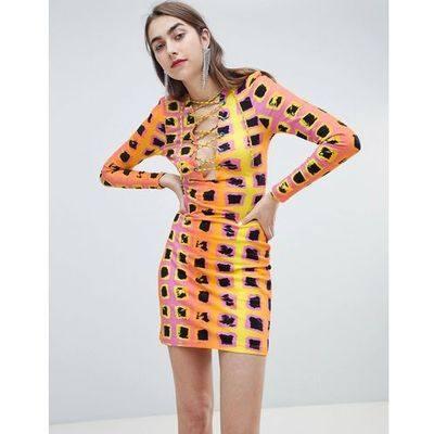 cae5b1b56de suknie sukienki house of holland bib denim dress blue House of ...