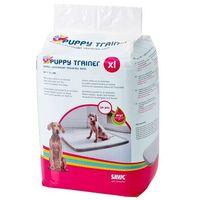 Savic Podkłady-maty higieniczne z aktywnym żelem puppy trainer large 60x45cm - 15 sztuk (5411388032463)
