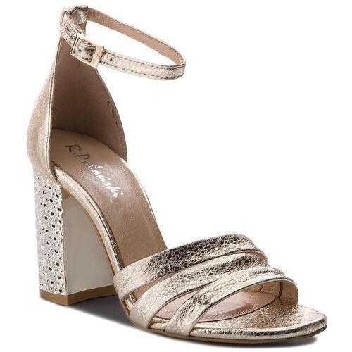 Sandały R.POLAŃSKI 0947 Magnolia Zamsz