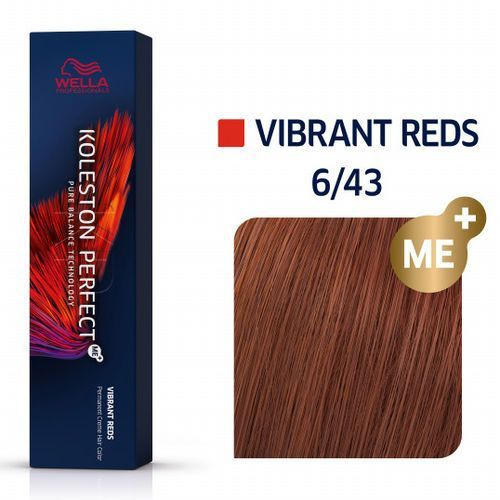 koleston perfect me+ 60ml vibrant reds 6/43 marki Wella