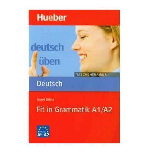 Deutsch uben Taschentrainer Fit in Grammatik A1/A2 (128 str.)