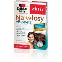Kapsułki DOPPELHERZ AKTIV Na włosy + Biotyna 30 kaps.